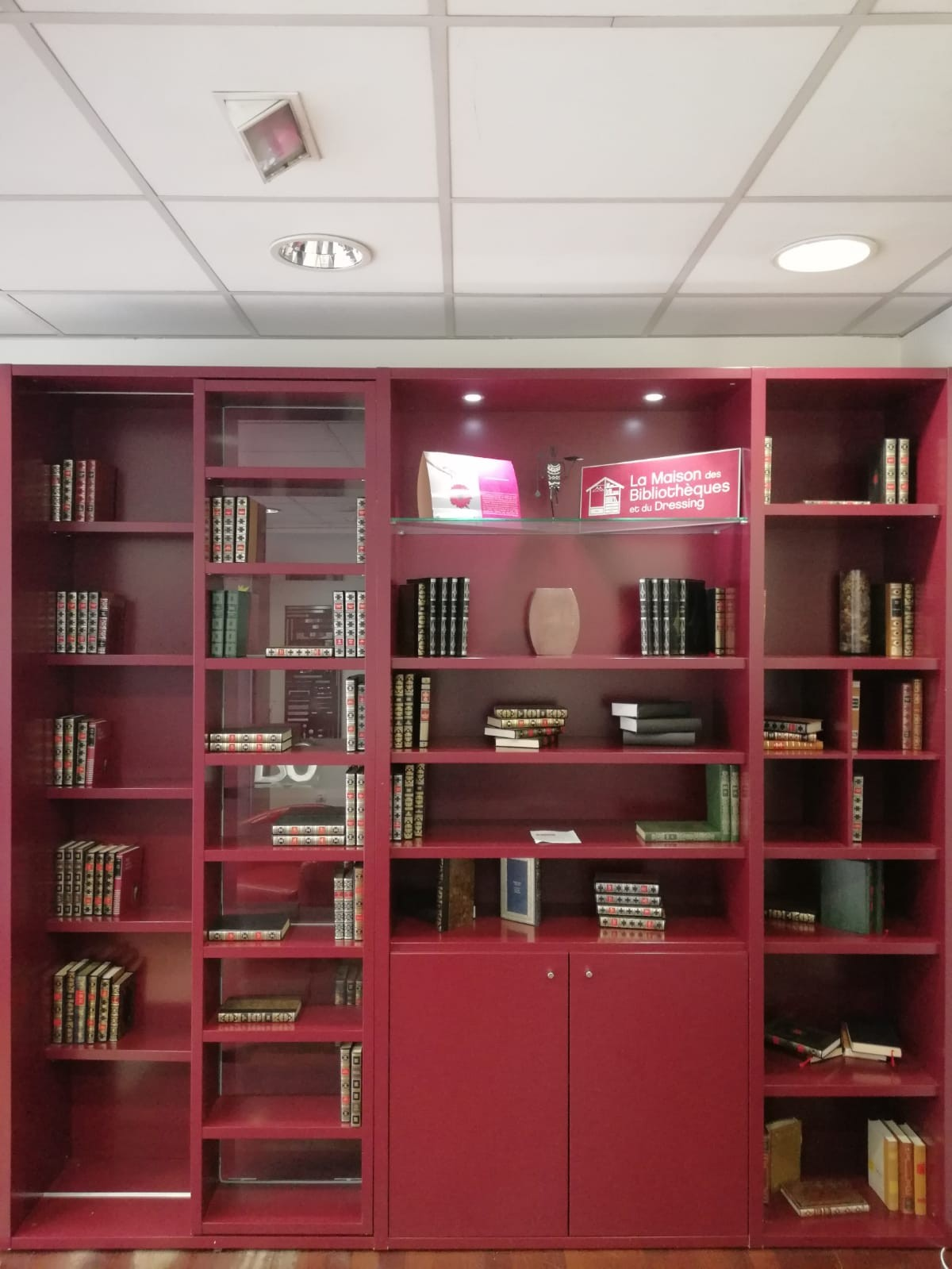 La Maison Du Dressing bibliothèque balzac