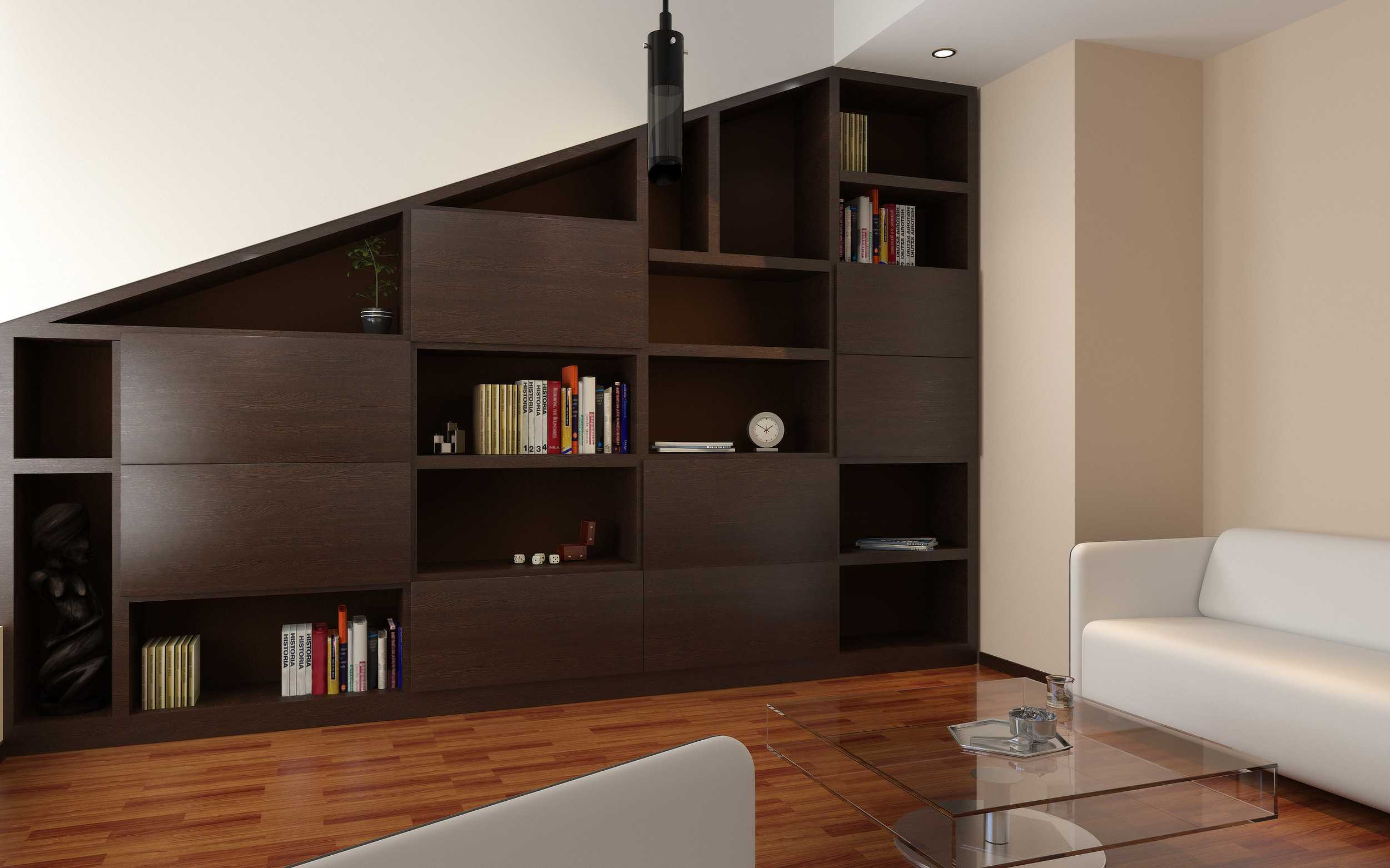 biblioth que sous comble ou sous pente la maison des bibliotheques. Black Bedroom Furniture Sets. Home Design Ideas
