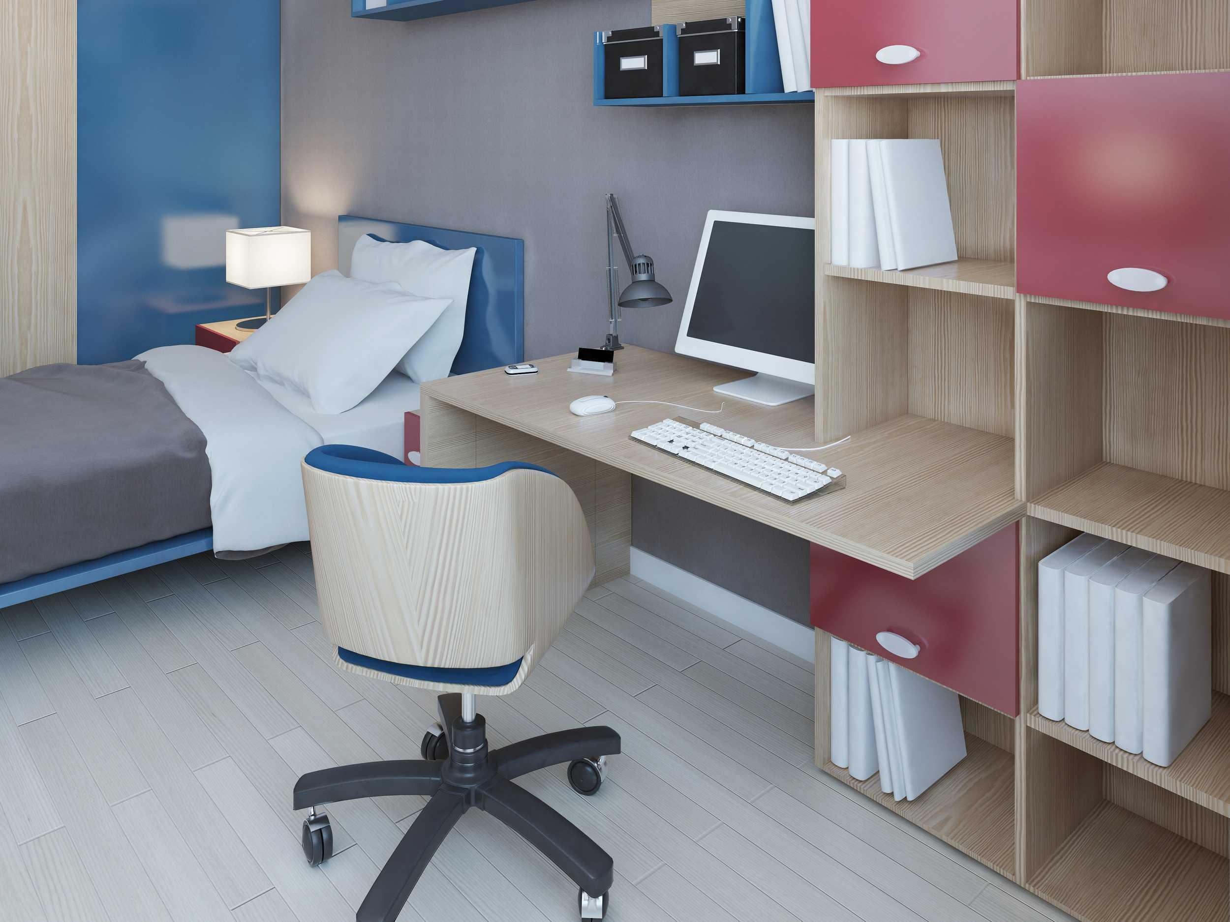 bureau sur mesure la maison des bibliotheques. Black Bedroom Furniture Sets. Home Design Ideas