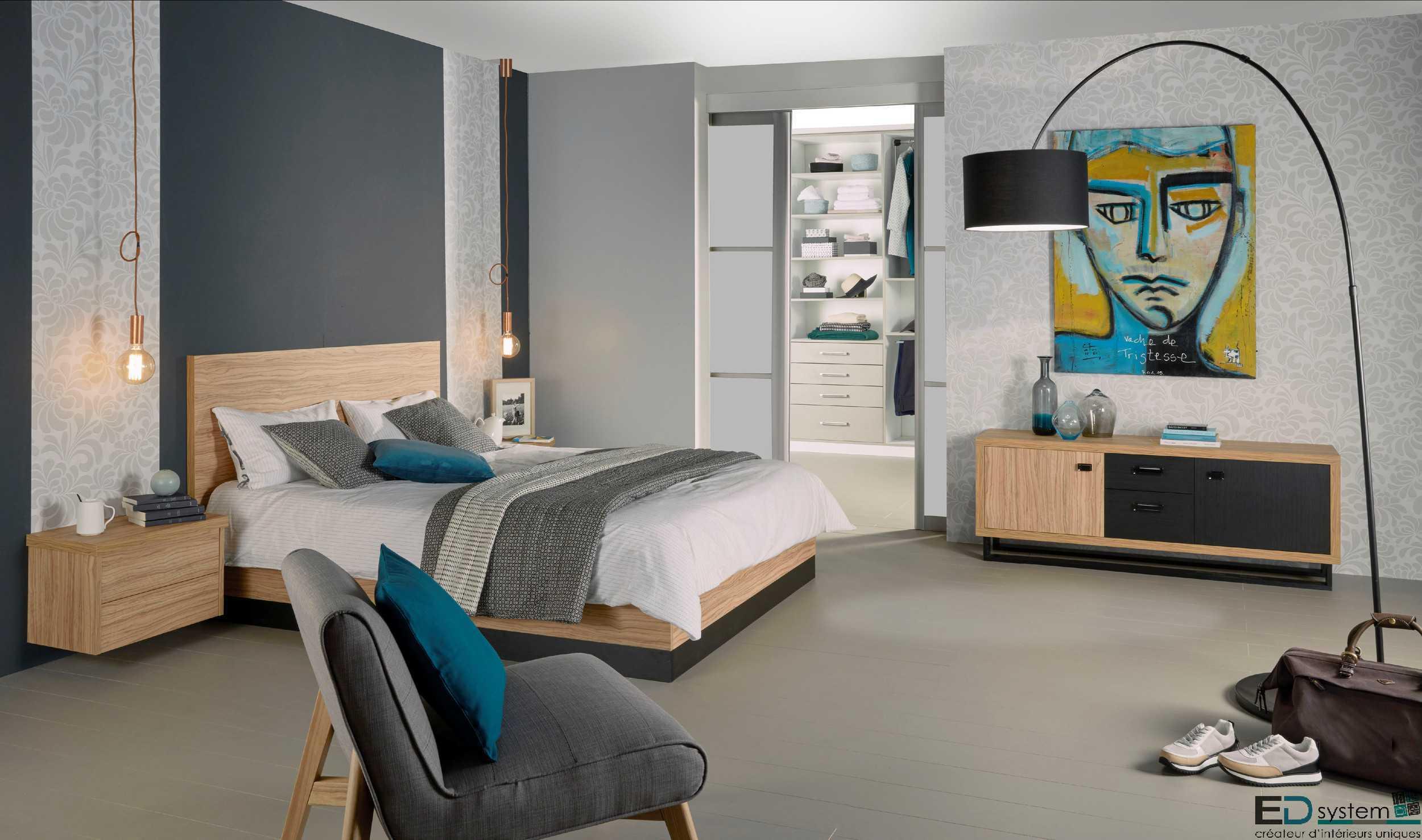 lit sur mesure la maison des bibliotheques. Black Bedroom Furniture Sets. Home Design Ideas