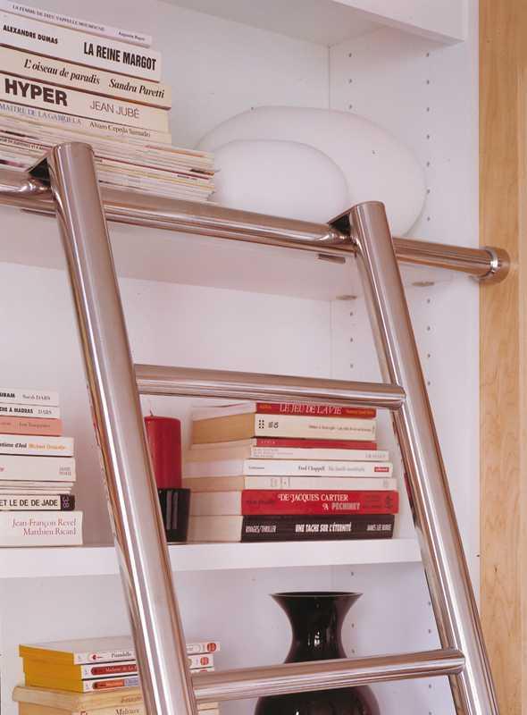 Options des biblioth ques la maison des bibliotheques - Echelle coulissante pour bibliotheque ...